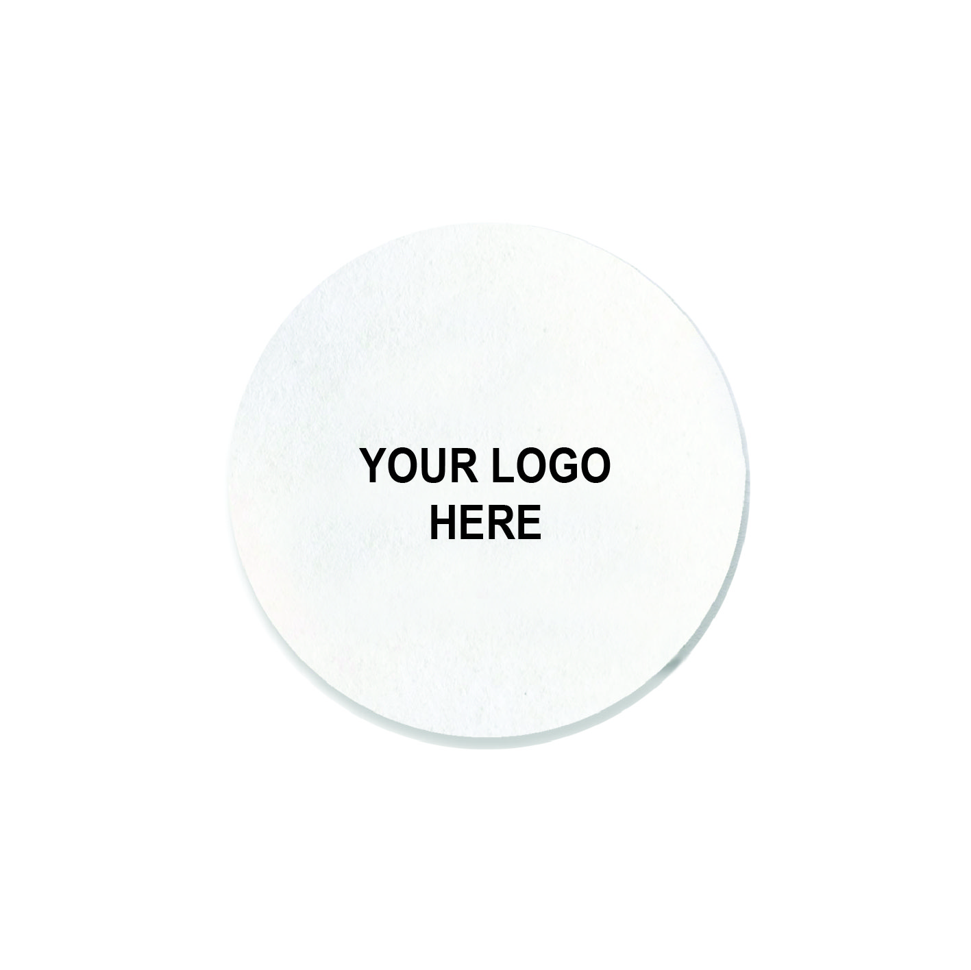 "3.5"" Custom Printed Medium-Weight Round Coaster"